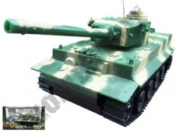 RC 586 Challenge Radio Control Tank BB Shooting in Green and Tan Camo